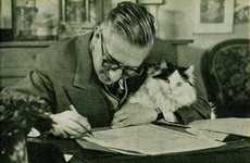 Literary Feline Blogs - The 'Writers and Kitties' Site Highlights Cuddly Confidantes Through Time