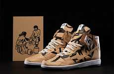 Artsy Skate Shoes