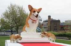 The Cuddly Corgi-Shaped Cake Has Set a World Record