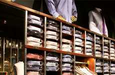 Single-Malt Shirt Stores - The Shirt Bar Serves Up Fine Whiskeys and Luxury Men's Shirts