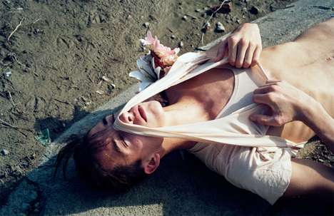 Shirt-Ripping Editorials - Photographer Alena Jascanka Gets Gritty for Summer