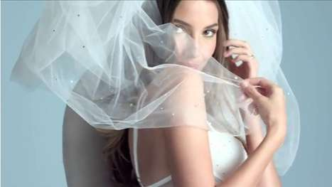 Sultry Wedding Lingerie Ads - Victoria's Secret Sexy Little Bride Clip Spices Up Marriage