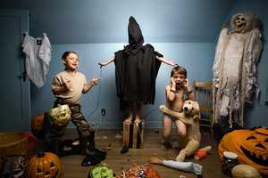 Jonathan Hobin's In the Playroom Photo Series is Disturbing