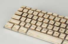 Warped Wavy Keyboards