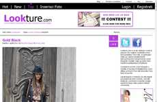 A Social site to promote emerging fashion photographers and designers