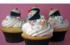 60 Kooky Cupcakes - From Delectable Robot Desserts to Cuddly Creature Cupcakes