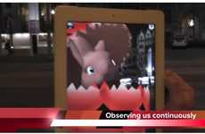 Augmented Reality Easter Apps - The Junaio AR Browser for iPhone Reveals Mysterious Sightings