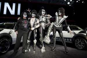 MINI and Hard Rock Group KISS Join Forces to Benefit Japan Relief Efforts