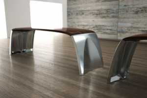The Swilken Bench by Andrew Dickson is Scaled Down for Sitting
