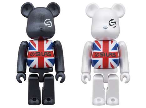 Medicom x Silas Union Jack Bearbricks
