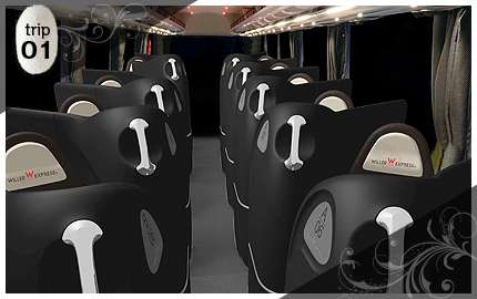 Lavish Luxury Buses - Japanese Bus Line Willer Express Takes It to the Next Level