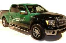 Electrified Pickup Mods - Protean Electric's In-Wheel Electric Motors Turn Gas Guzzlers into EVs