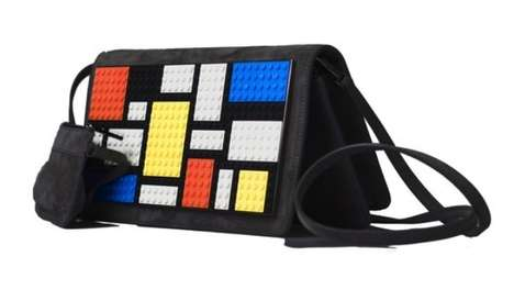 Building Block Fashion Accessories - Les Petits Joueurs LEGO Clutch is for Playful Fashionistas