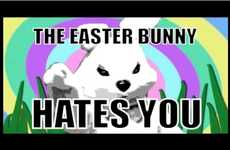 Violent Holiday Mascots - The 'Easter Bunny Hates You' Video Shows the Rabbit's True Colors