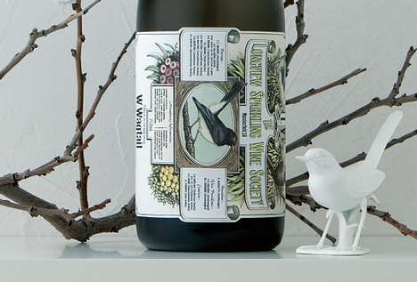 W-Wagtail Wine Packaging