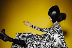 Model Kasia Wrobel Rocks Monochromatic Ensembles