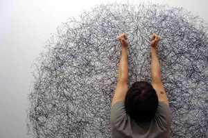 Tony Orrico Creates Unique Circled Drawings With Pencils and Dance