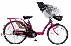 Family-Fitting Cycles - The Panasonic Gyutto Bike is a Stable Ride for a Small Family