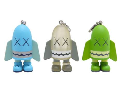 Original Fake Kaws Blitz Key Chain