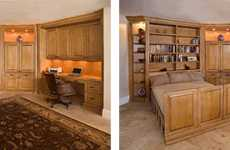 Roll-out-Bed Elegantly Converts Rooms