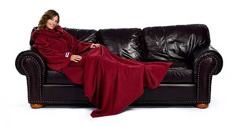 Heated Blanket Spreads the Warmth - The Slanket helps Charities
