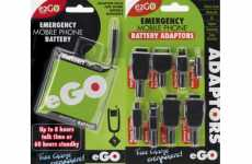 Portable Battery Charges Cell Phones