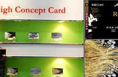 Diamond Studded Credit Cards