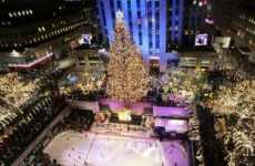 NYC Goes Green For Christmas