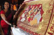 $100,000 Bejeweled Sari