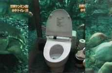 Underwater Toilet at Mumin Papa Cafe