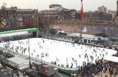 Mexico City's Mega Skating Rink