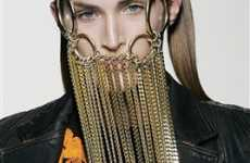 Face Chains - Designers Create Necklaces for Heads