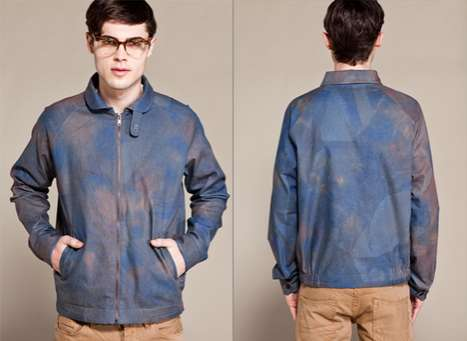 Stained Denim Jackets - 'Noah's Windbreaker' from Timo Weiland SS11 is Fashionably Rustic