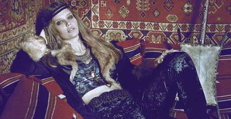 Posh Persian Lookbooks - The Somedays Lovin AW11 Collection is Very Bohemian