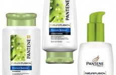 Sustainable Sugarcane Packaging - The Pantene Pro-V Nature Fusion Features Plant-Based Bottles
