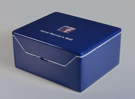 Social Media Status Printers - Keep Physical Copies of Status Updates With the Facebook Box
