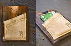 The Handmade iPhone Wallet From CXXVI Holds all Your Important Belongings