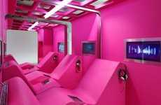 Vibrant Interactive Interiors