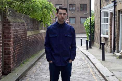 Handmade Simple Menswear - The UTILE SS11 Collection Features High-Quality Tops Built To Last