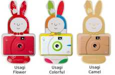 Adorable Cartoon Cameras - The Superheadz Wide Lens Camera Series Features Colorful Characters