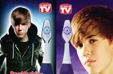 The Justin Bieber Singing Toothbrush Plays Songs While You Brush