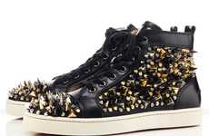 Christian Louboutin Louis Tik Tik Flat Sneakers is Dangerously Stylish