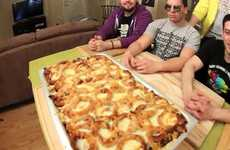 71,488-Calorie Pasta - Epic Meal Time Shows Us How to Make Fast Food Lasagna