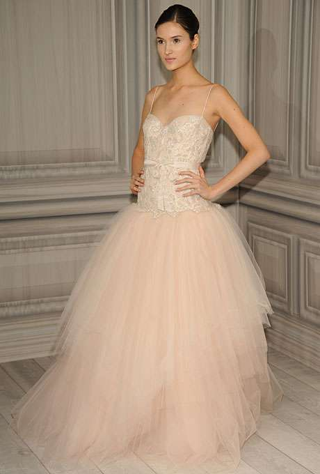 Pretty Princess Wedding Gowns - The Monique Lhuillier Spring 2012 Bridal Collection is Magical