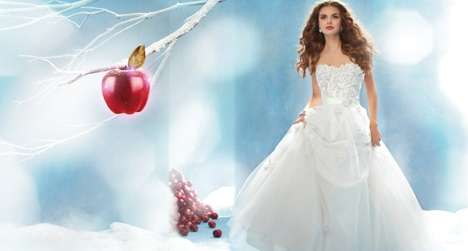 Fairytale Wedding Dresses - The Disney Fairy Tale Wedding Collection is for Grown-Up Princesses