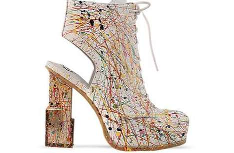 Jeffrey Campbell Mildred paint shoes