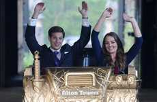 Gilded Thrill Rides - A Golden Royal Roller Coaster Has Been Given to Will and Kate