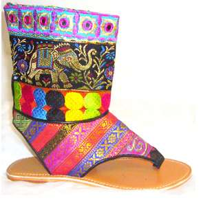 bollywood boots by Diana linda