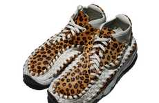 Latticed Leopard Sneakers - Prowl in the Nike Air Footscape Woven Chukka Motion 11K Shoes