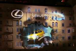 Pearl Media Launches the Lexus CT 200H Hybrid in a Stunning Visual Display